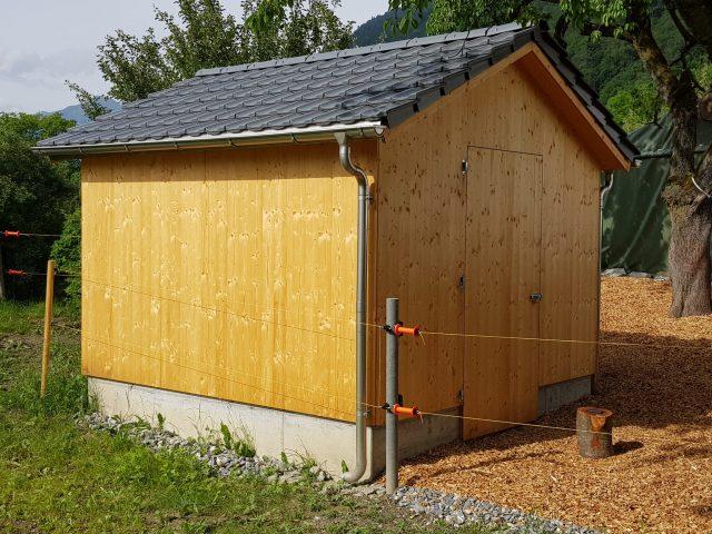 Pergola Gartenhaus Dolf Walli Holzbau Ag Trimmis
